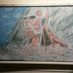 【学校の芸術】消すのがもったいない黒板の落書き12選