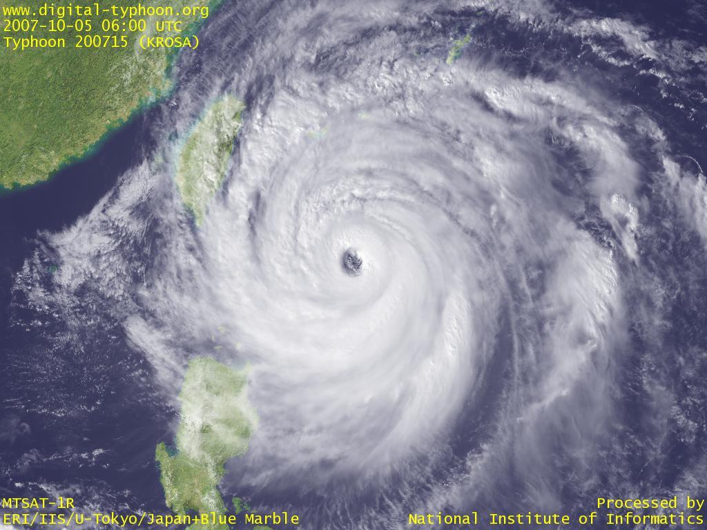 【台風接近中!!】台風が来るからなんだ!めちゃカワイイと思える台風の名前10選