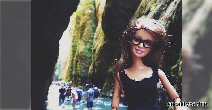 【まるでモデル】女子力が高すぎるバービー人形のインスタグラム