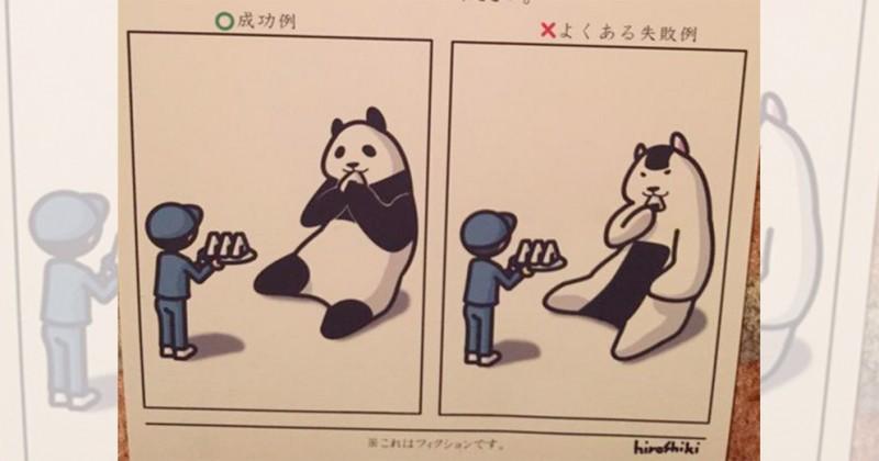【極秘情報】トイレで偶然発見した「動物園の秘密マニュアル」が笑撃的だと話題に(画像7枚)