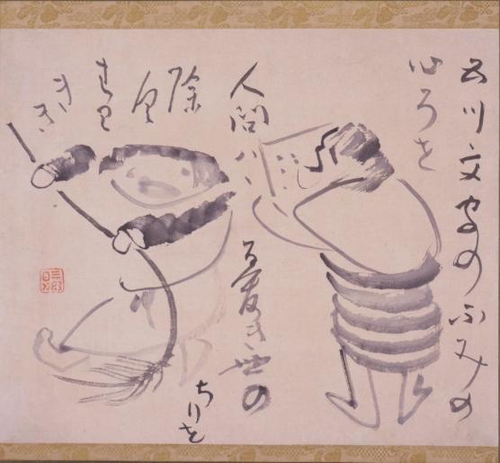 日本画 ゆるふわ6