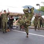 自衛隊が踊る?! 記念行事で披露された素晴らしいサプライズに拍手喝采