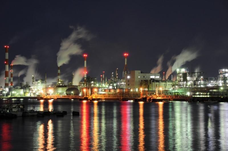 広島 工業地帯 夜景3