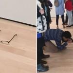 やっぱ分かってないじゃん!美術館の床に眼鏡を置いてみたら、現代アート扱いされた