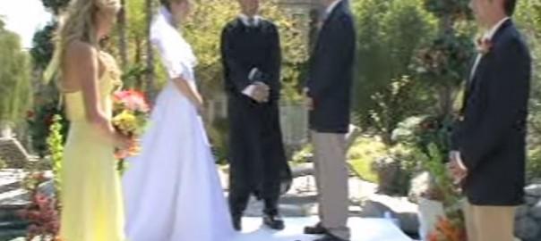 ホップ、ステップ、濡れた花嫁