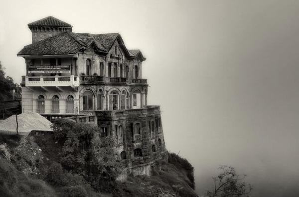 コロンビアにあるホテルの廃墟 ホテル・デル・サルト