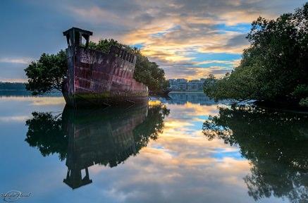 シドニーの蒸気船
