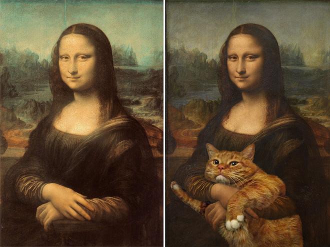 モナリザとネコ