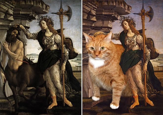 パラスとケンタウルスとネコ