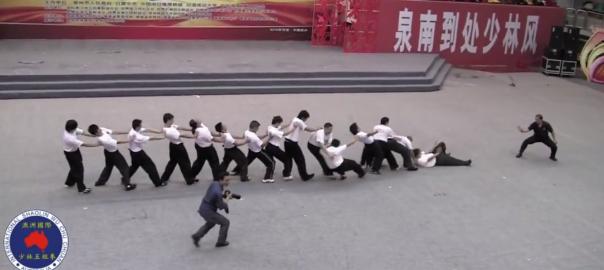 【ヤラセ?本物?】中国で少林拳の達人が驚きの達人技を披露→海外の反応