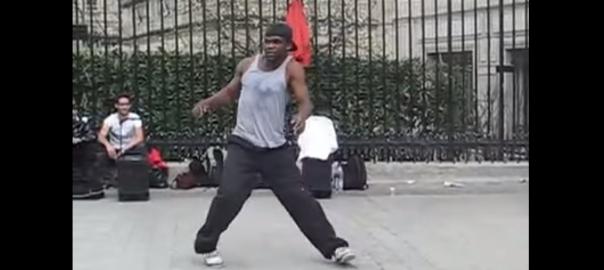 【これぞ神業】フランスのストリートダンサーの動きが人間とは思えない