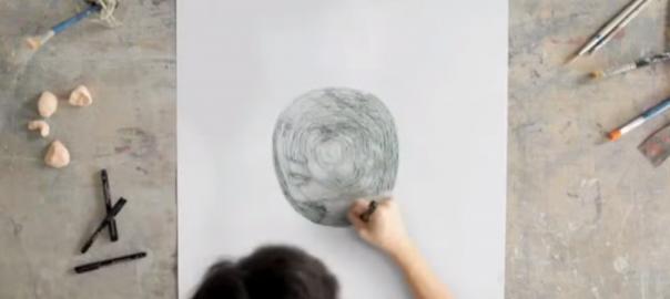 クルクルと円を描くだけで○○が浮かび上がってくる不思議な神ワザ