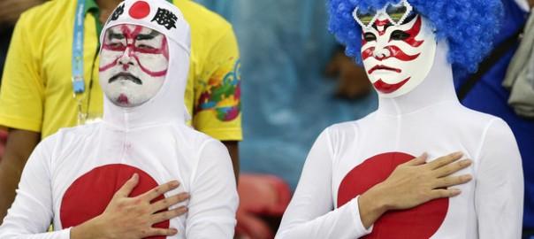 【W杯ブラジル】日本のサポーターは熱い!と海外で話題に