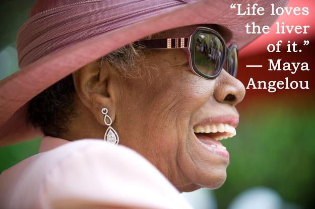 全米が尊敬する黒人女性作家「マヤ・アンジェロウ」の17の言葉