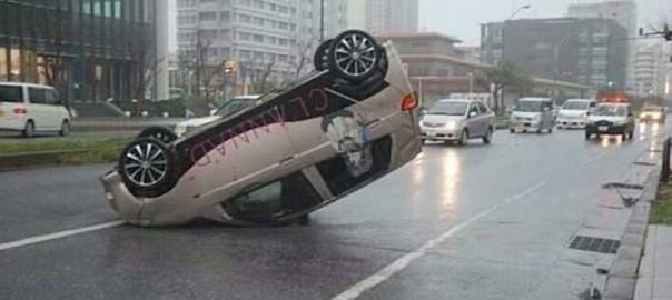 【速報】台風8号で日本が色んな意味でヤバイことになっている画像10選