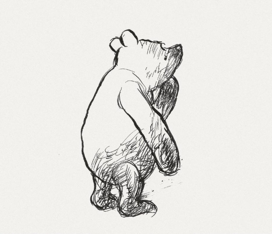 クマのプーさんのイラスト