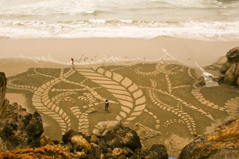 Designs-on-beach