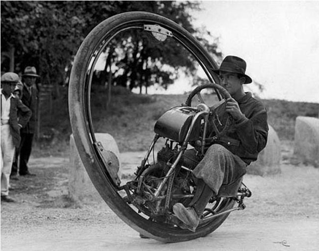 16 single wheeled motorcycle