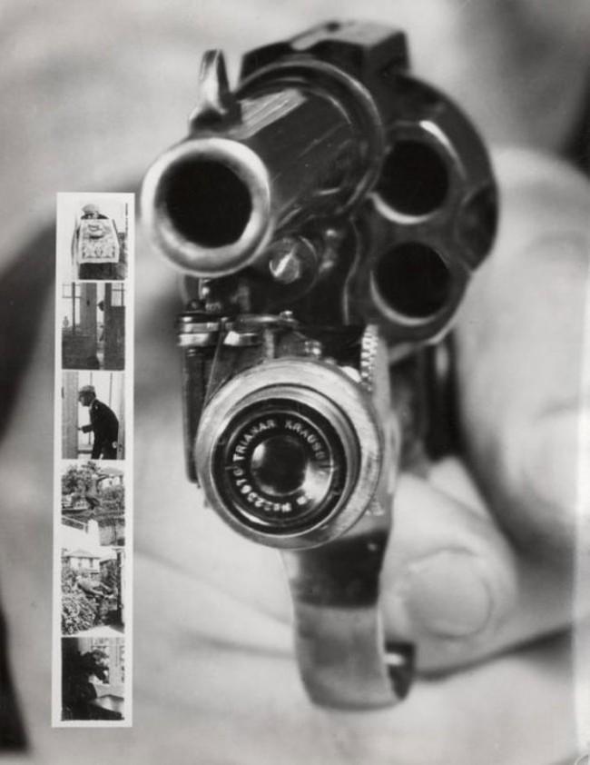 12 photo revolver