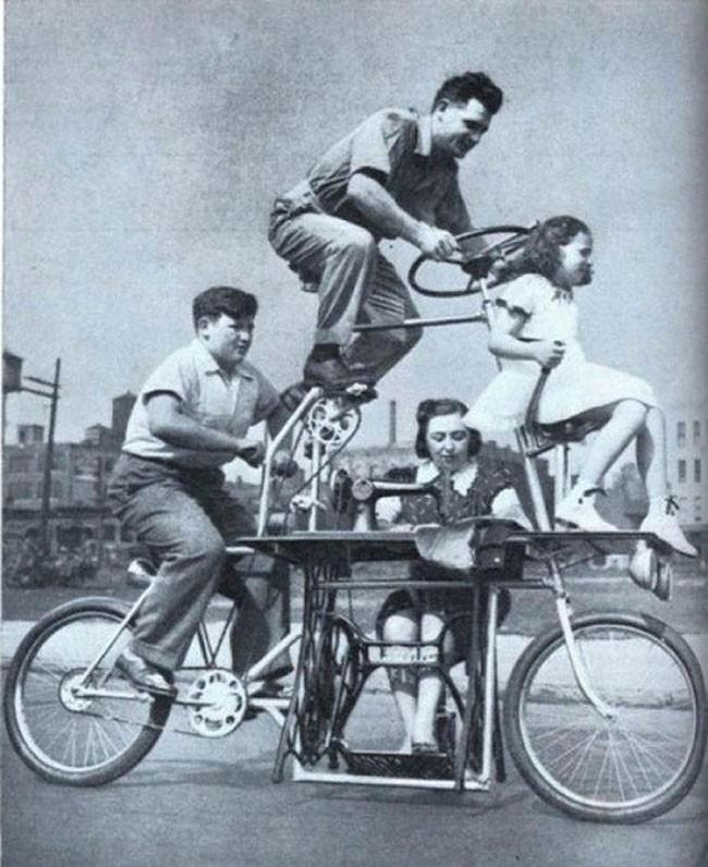 3 family bike