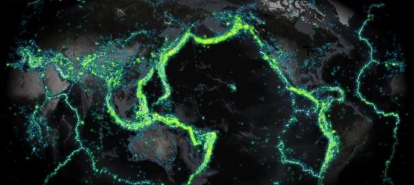 いろんな観点で世界地図を見てみた