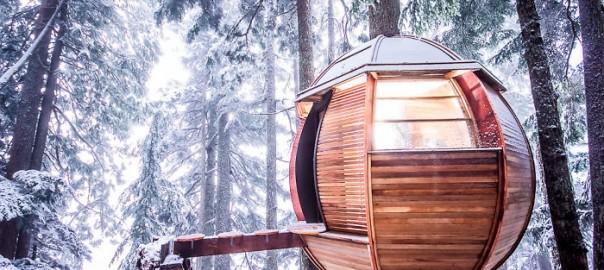 子供ができたら連れて行きたい!世界のクリエイティブなツリーハウス15選