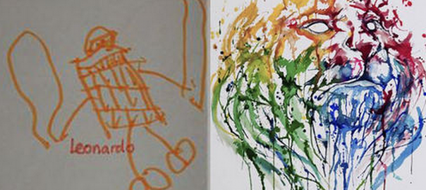 【劇的な成長】ある画家の2歳から24歳まで作品を順に追ってみた23枚が凄い