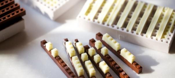 日本人が海外で話題に!チョコで作られたレゴブロックの完成度が凄い