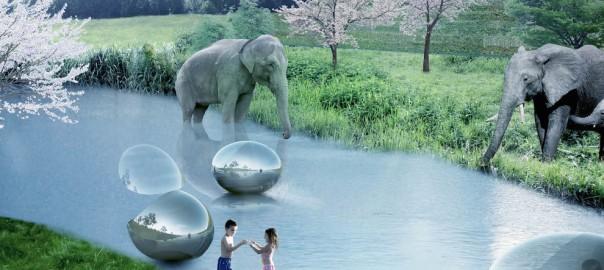 これは画期的!檻の存在しない動物園が2019年オープン
