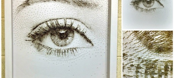 鋭いのに繊細!釘を打つだけで描かれたアートがあなたの心を打つ