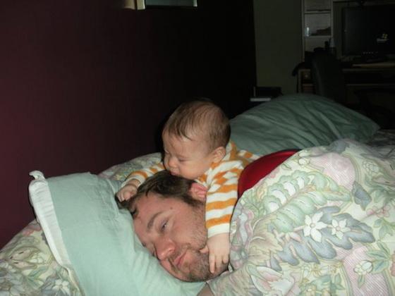 Funny-sleeping-baby