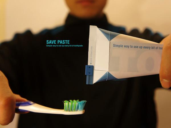 環境に優しく、そして無駄なく使える歯磨き粉