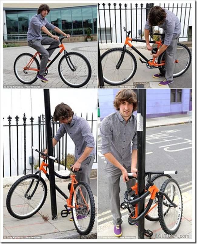 盗まれにくい自転車