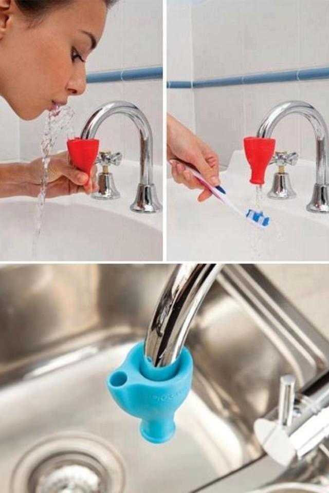 歯磨きやうがいを簡単にする装置