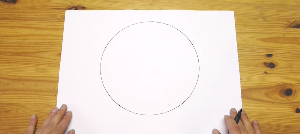 この手があったか!コンパスがなくても超カンタンな方法で円を描く方法
