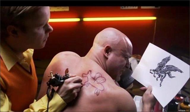 ペガサスのタトゥー(刺青)