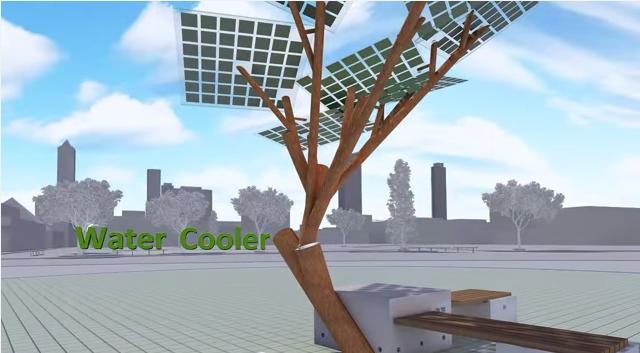 solar powerd tree4