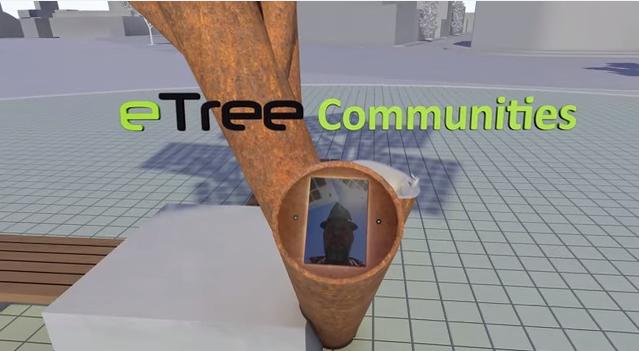 solar powerd tree6