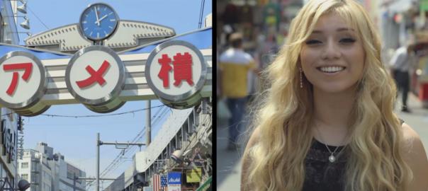 全米1位のアカペラグループが新曲のMVを上野アメ横で撮影していた
