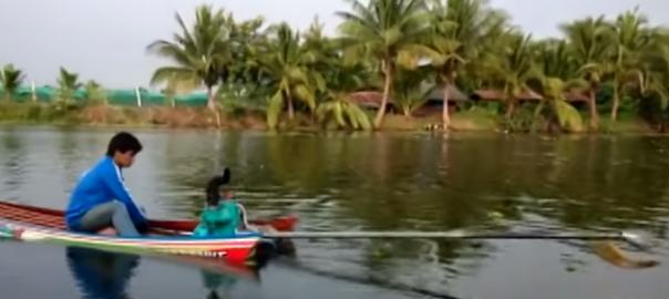 【遥か彼方へ】タイの古びたボートの性能が完全に予想外(0:34)
