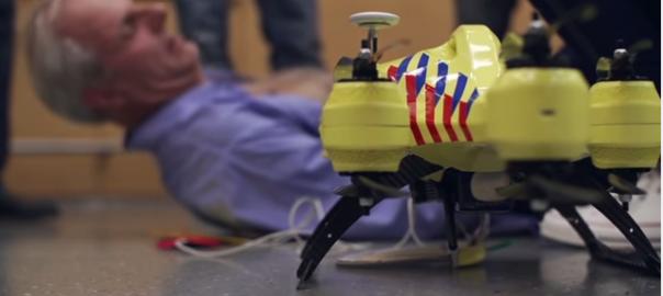 【電話後1分で到着】生存率を8割以上あげる救急ドローンのプロトタイプをオランダの学生が開発