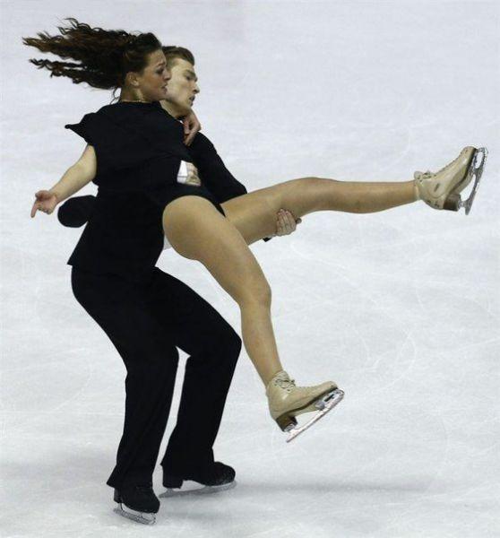 フィギュアスケートの決定的瞬間