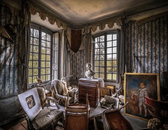 芸術的な部屋