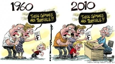 education-1960-vs-2010-funny-picture-34746