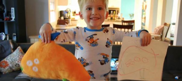 一生の宝物に。子供が描いた絵をぬいぐるみにする会社