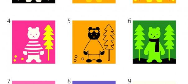【性格診断】ある〜日、森の中、クマさんに、出会った♪どんなクマだった?