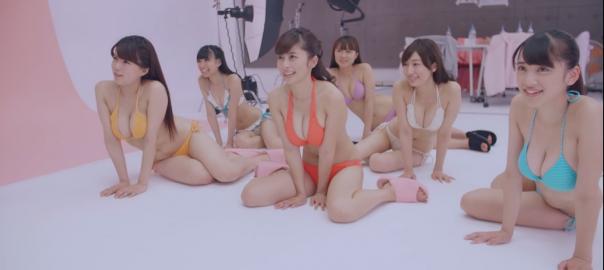【衝撃】水着の女の子たちが「だるまさんがころんだ」でまさかの結末に.....