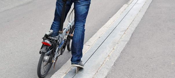 ノルウェーで世界初の「自転車用エスカレーター」が導入される