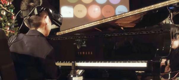 手足を使わず、目線の動きだけでピアノを演奏するコンサートがすごい!(3:26)