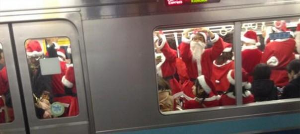 サンタだってはしゃぎたい。クリスマスでやらかすサンタたち6選